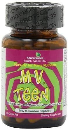 Futurebiotics M.V. Teen, (Multivitamin  For Teens), 90 Capsules