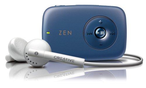 CREATIVE メモリプレーヤー ZEN STONE 2GB スピーカー内蔵モデル ブルー ZN-STK2G-BL