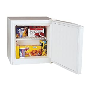 Haier HUM013EA 1-2/7-Cubic-Foot Compact Space-Saver Upright Freezer