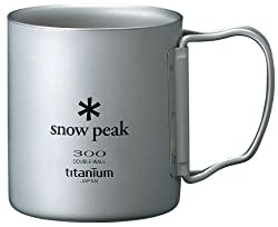 Snow Peak Titanium Double 300 Wall Cup