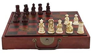 Collectible Chinese Antique Style Chess Game Set