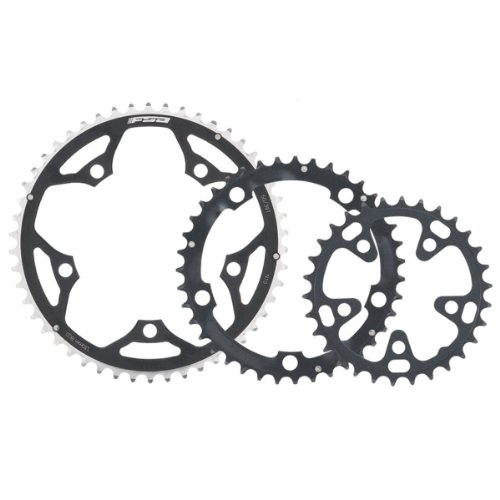 FSA Pro Road 42 -Tooth/10-Speed Chainring (130mm, Black)