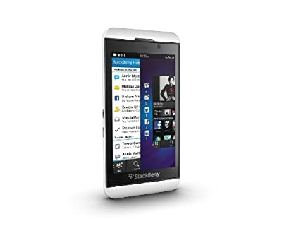 BlackBerry Z10 (Pure White, 16 GB)