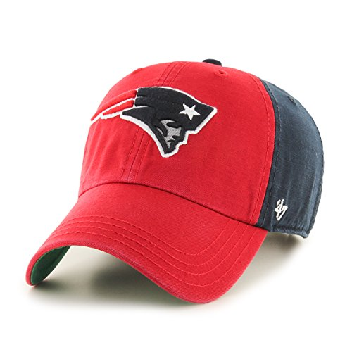 NFL New England Patriots Flagstaff Clean Up Hat, One Size, Navy (Patriots Ball D compare prices)