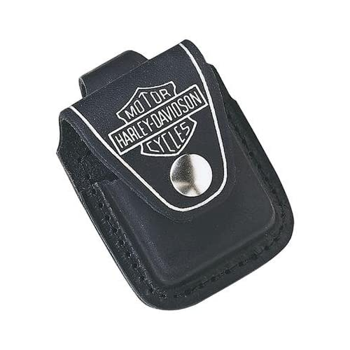 Zippo Harley Davidson Genuine Leather Lighter Pouch