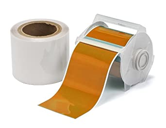Brady ToughStripe Nonabrasive Floor Marking Tape with Overlaminate and Gloss Finish