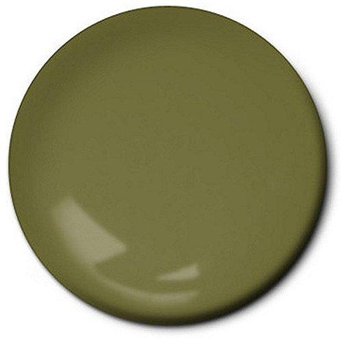 Testors Enamel Paint, Flat Olive, 1/4-Ounce