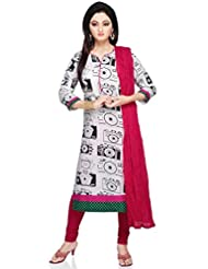 Vastra Vinod Camera Print Cotton Kurti