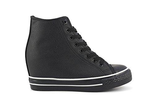 Sneaker con zeppa interna Cafè Noir DG916 (38)