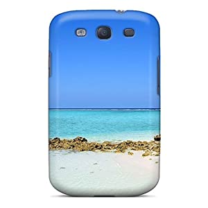S3 Protective Case Playa Descargar Fondos: Cell Phones & Accessories