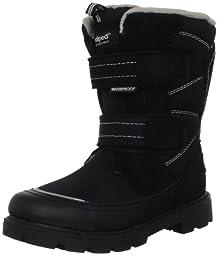 pediped Flex Cruz Snow Boot (Toddler/Little Kid),Black/White,30 EU (12.5-13 M US Little Kid)