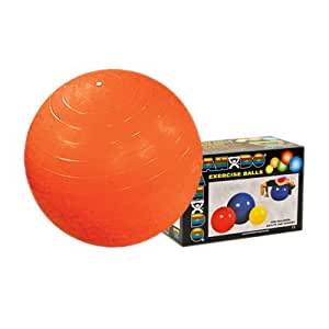 Amazon.com: DSS Inflatable Exercise Ball - Orange - 22 inch, Retail