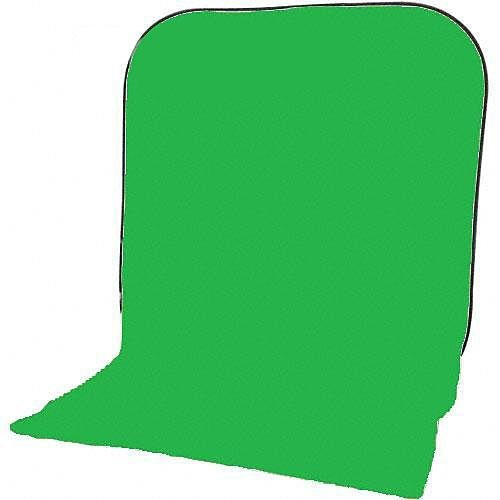 Impact Super Collapsible Background - 8 x 16' (Chroma Green) (Color: Green)