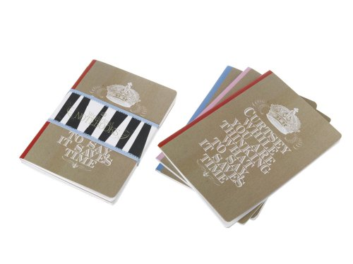 Wonderland Notebks 3pk (Everything Alice Stationery)