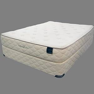 Natura skye mattress plush set cal king California king box spring