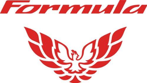 Pontiac Firebird Formula Tail Light Decal 98-02 (Red) (Pontiac Formula compare prices)