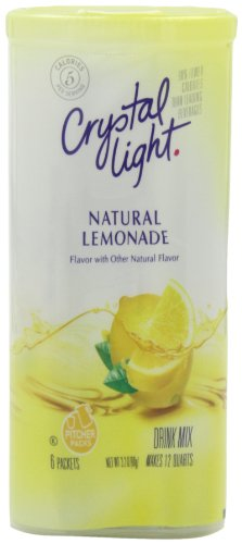 Crystal Light Lemonade Drink Mix (12-Quart), 3.2-Ounce Packages (Pack of 4)