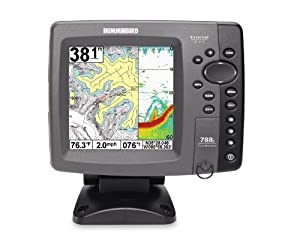 Humminbird 788ci 5-Inch Waterproof Marine GPS and Chartplotter by Humminbird