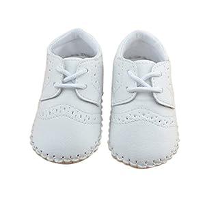 Froomer Zapatos De Cuero PU de Bebé Suave Con Suela Infantil Preandador Primeros Pasos marca Froomer
