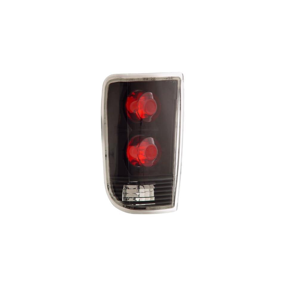 Chevrolet/Chevy Blazer 95 00 Tail Lamps / Lights Black Euro Performance