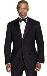 Men\'s Black Slim Fit Calvin Klein Tuxedo (42 Regular)