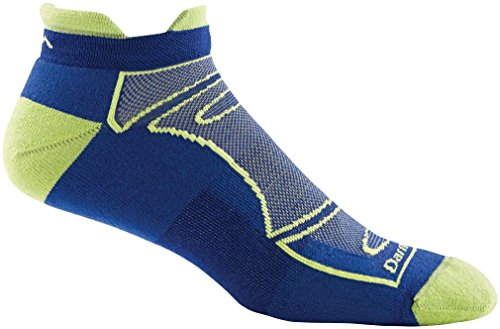 Merino Wool Run/Bike No Show Light Cushion Sock - Men's