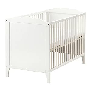 IKEA HENSVIK   Cot, white   60x120 cm       Customer review