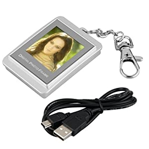 Digital LCD Photo Frame Picture Album Viewer Keychain
