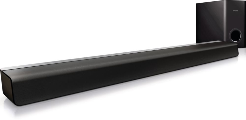 Philips CSS2123B/F7 Soundbar with Subwoofer (Black)