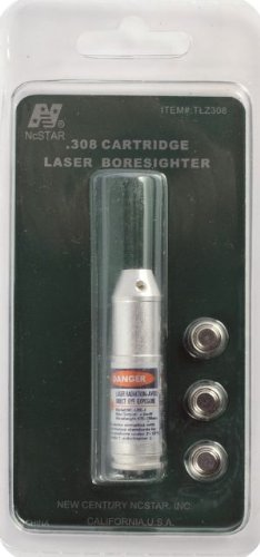 Ncstar .308 Cartridge Red Laser Bore Sighter (Tlz308)