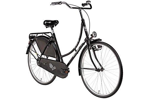 28-Bermuda-Hollandrad-Damen-Holland-Fahrrad-Citybike-Valencia-schwarz-Beleuchtung-Gepcktrger-Rcktrittbremse