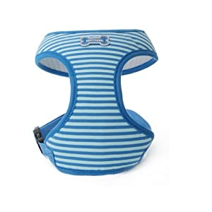Puppy Angel Across the Universe Soft Harness, L, Blue