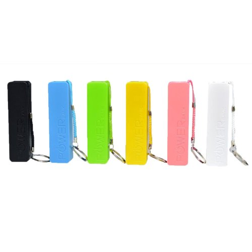 Cbd® 2600Mah Mini Usb Power Bank Lipstick Size With Keychain Mobile External Battery Charger For Apple Iphone 5 5S 5C 4S 4, Samsung Galaxy I9300 S4 S3 Note 2 3 N7000, Google Nexus 4 5 7, Nokia Lumia 920, Sony Xperia Z, Google Glass, Htc One X, Bluetooth H