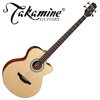 Takamine EG512C Jumbo Cutaway Acoustic-Electric Bass - Natural