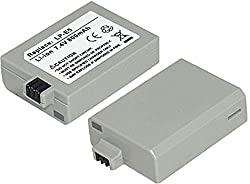 PowerPak Hi-Power Li-ion battery LP-E5 for Canon