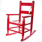 Red Toddler Rocker