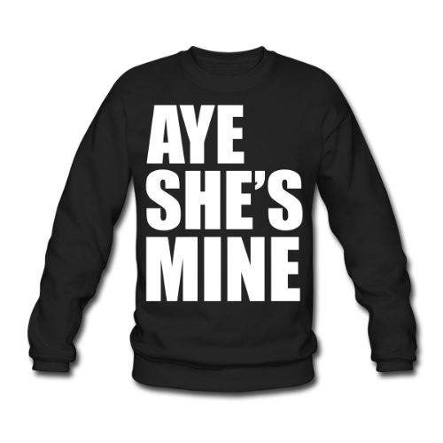 Spreadshirt, aye_shes_mine, Men's Sweatshirt, black, XL