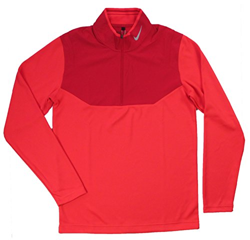 Nike Golf Dri-FIT 1/2-Zip Top DARING RED/GYM RED/GYM RED/WOLF GREY S