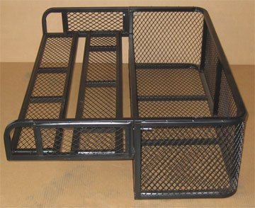ATV DROP REAR Cargo Carrier Basket Rack - UNIVERSAL (Atv Hauling Trailers compare prices)