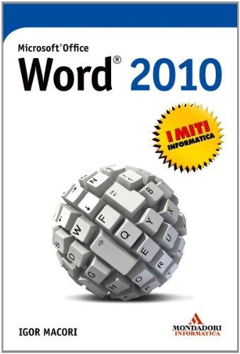 Igor Macori - Microsoft Office Word 2010