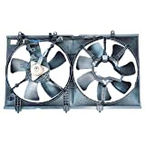 TYC 620930 Mitsubishi Lancer Replacement Radiator/Condenser Cooling Fan Assembly