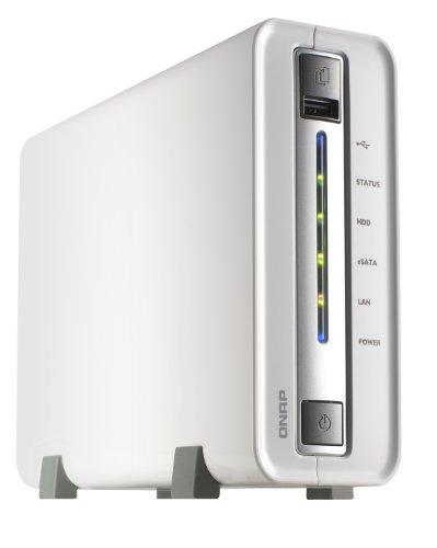 QNAP TS-112/2TB 1 Bay 2TB NAS Solution (1x 2TB HDD Installed)