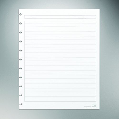 staples-arc-notebook-filler-paper-letter-size-narrow-ruled-white-8-1-2-x-11-50-sheets-by-staples
