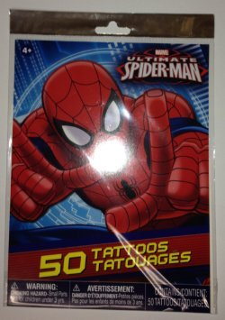Ultimate Spider-Man Tattoos