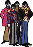 The Beatles Yellow Sub Submarine Band Members Embroidered Iron On Patch p1406 Amazon.com