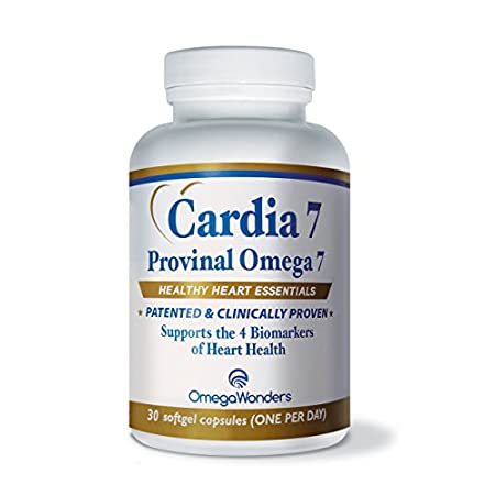 "Cardia 7 is the most potent Provinal Omega 7 product on the market with 210mg of Omega 7 and Purified Omega-7: The Inside Scoop On ""Purified Omega 7″ Omega7 Fatty Acid Health Benefits: 'Discover the new ""good"" fat' After hearing and maybe even experi..."