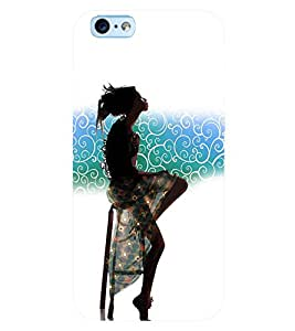 PRINTSWAG GIRL Designer Back Cover Case for APPLE IPHONE 6