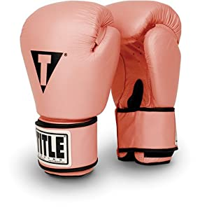 Buy TITLE Boxing Leather Aerobic Boxing Gloves by TITLE