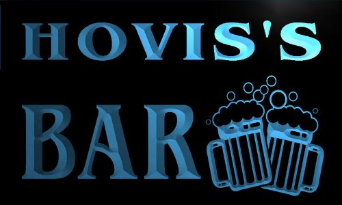 w008291-b-hovis-name-home-bar-pub-beer-mugs-cheers-neon-light-sign