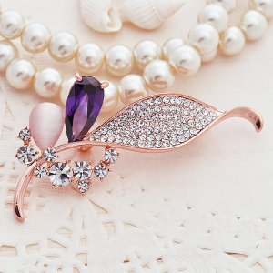 Zhong Postage Silver Wheat Jewelry High-End Men'S Fashion Female Joker Suit Pin Brooch